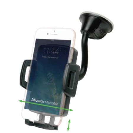 SCOSCHE WDVQM-ST1 - Wireless Charging Universal Window / Dash Mount