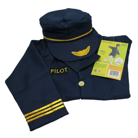 Airline Pilot Costume (Brand New World Airline Pilot Career)