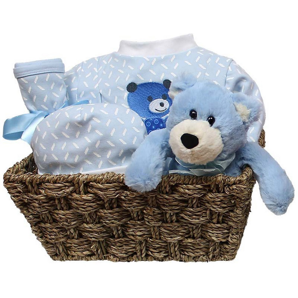 Baby Boys Welcome Home 5-Piece Gift Set, Blue, 3-6M