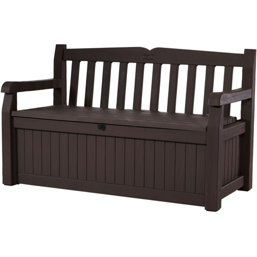 Keter Bench Box, Brown