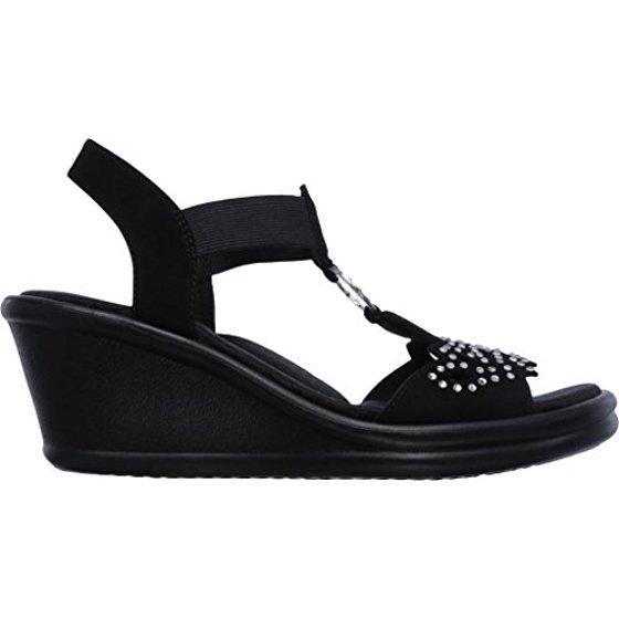 2ffc541ef491 Skechers - Skechers Women s Rumblers Queen B Wedge Sandal