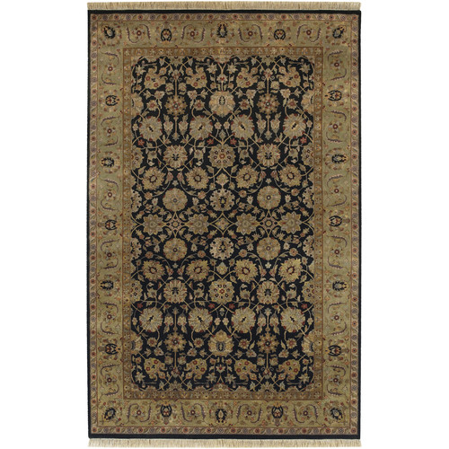 Surya Heirloom Black Oriental Area Rug