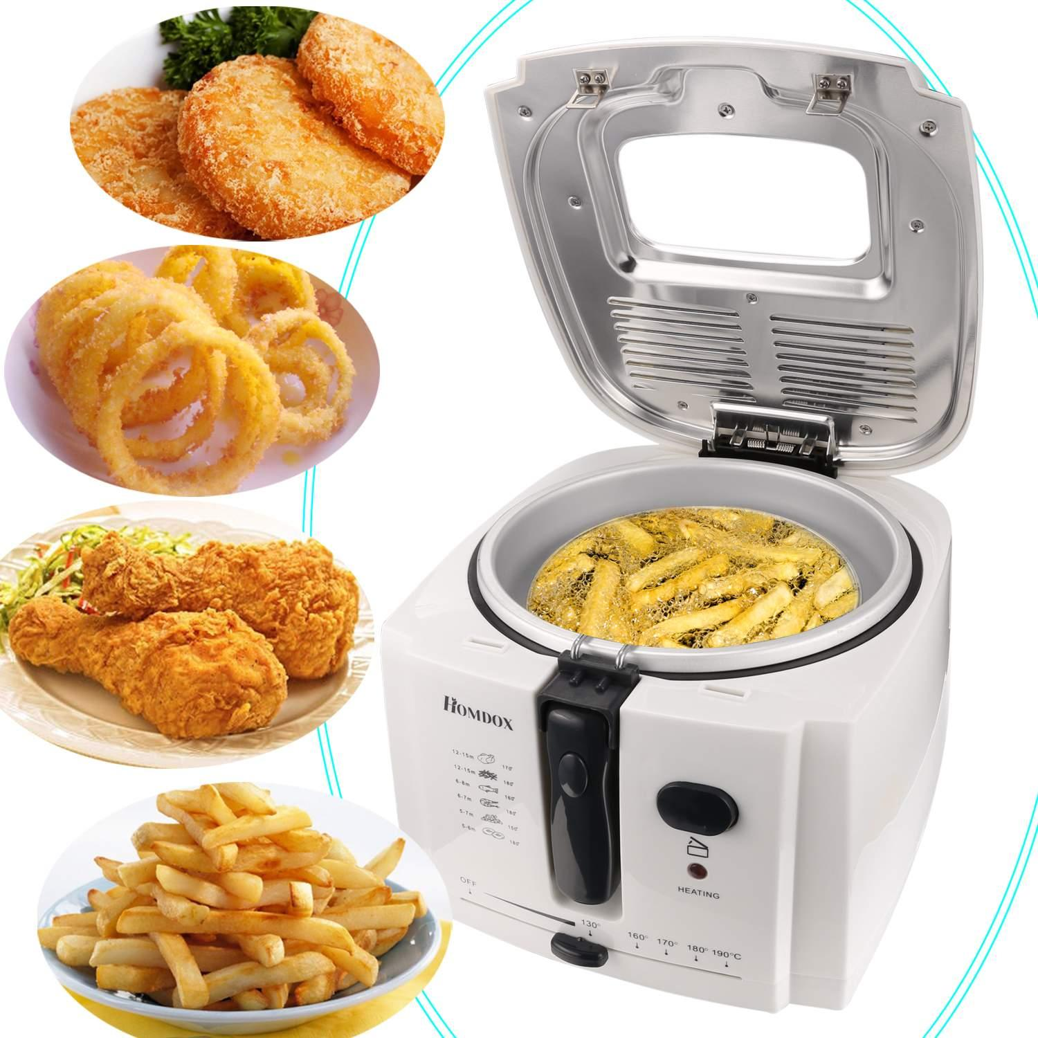 Electric Deep Fryer  2L 1500W  Professional-Style  OTST