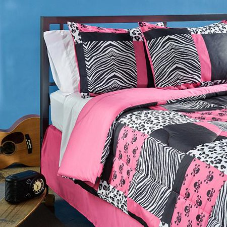 Veratex Sassy Patch Full Size 4 Piece Comforter Set