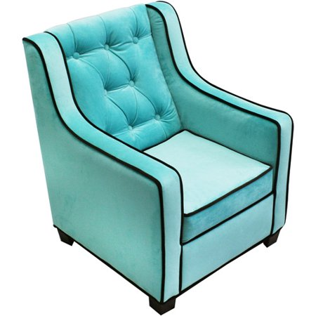 Newco Kids Tween Grand Chair Aqua Chocolate Walmart Com