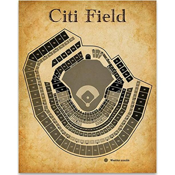 Citi Field Baseball Stadium Seating