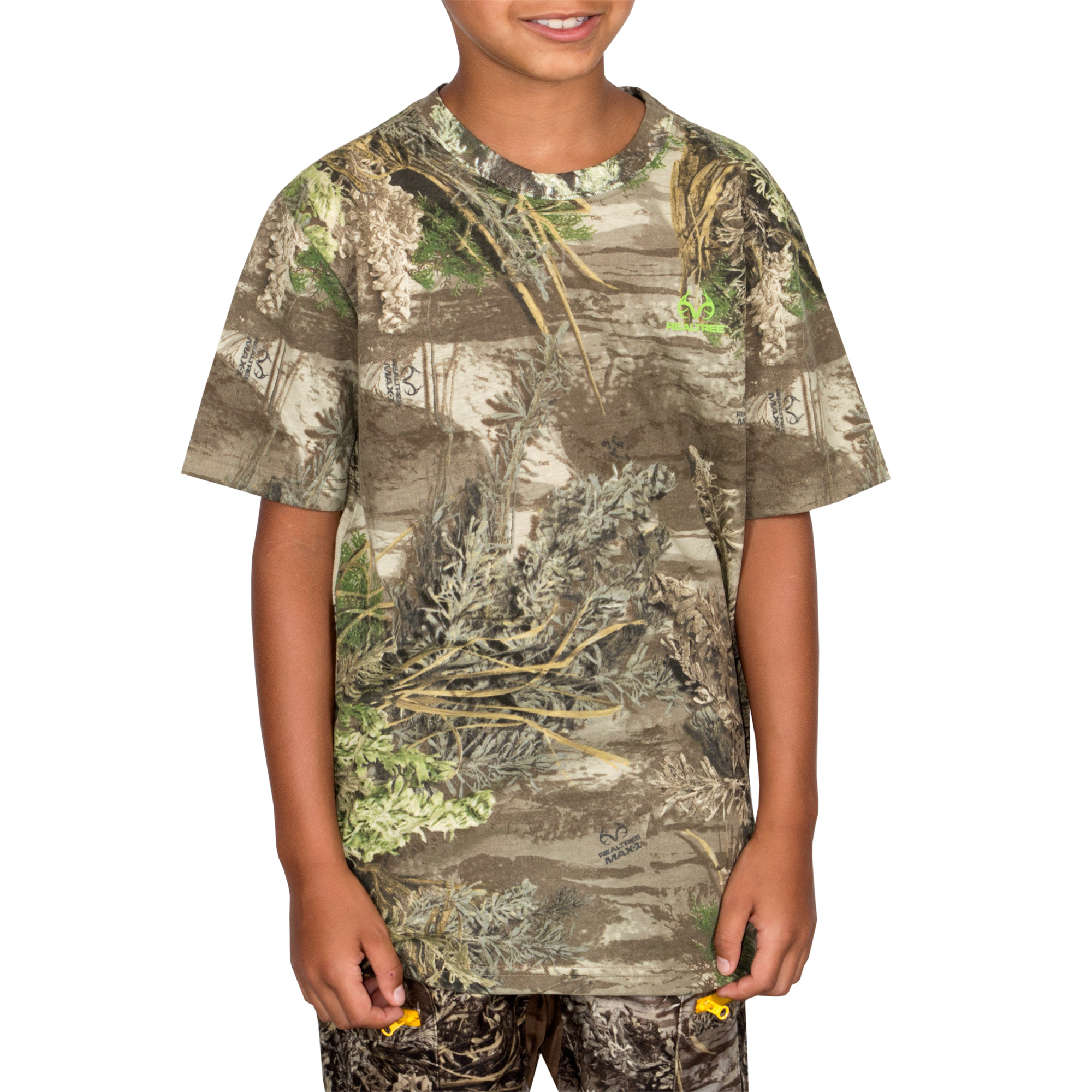 Youth Short Sleeve Camo Tee Realtree by Mahco Inc