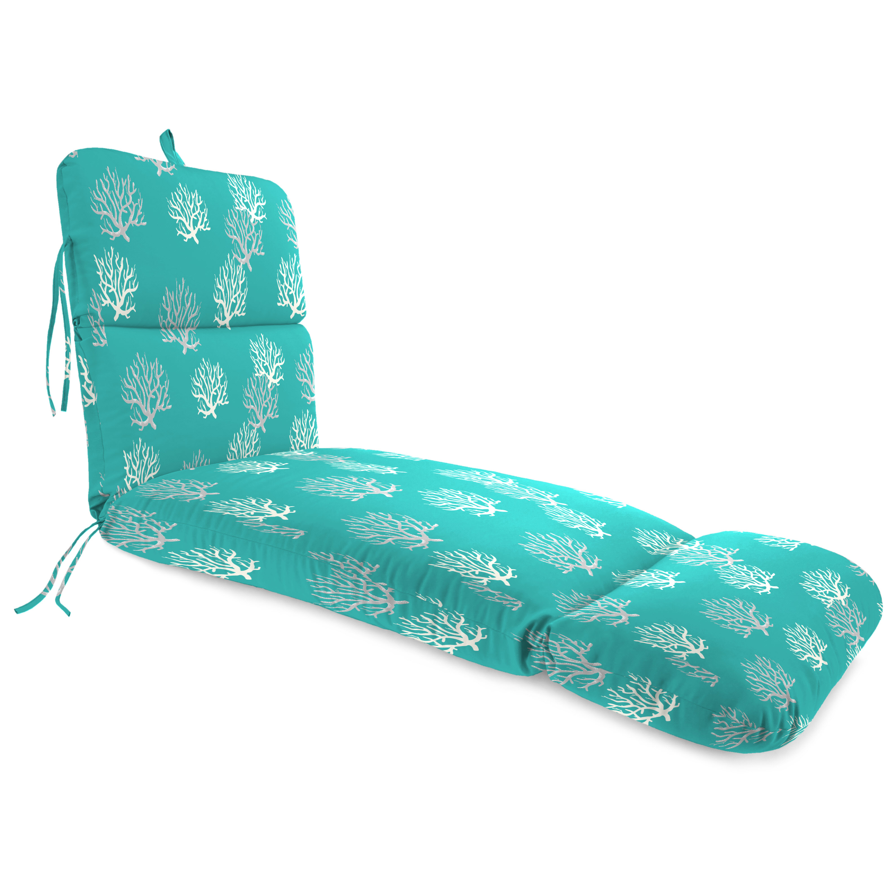 Jordan Manufacturing Outdoor Chaise Lounge Cushion,Isadella Ocean