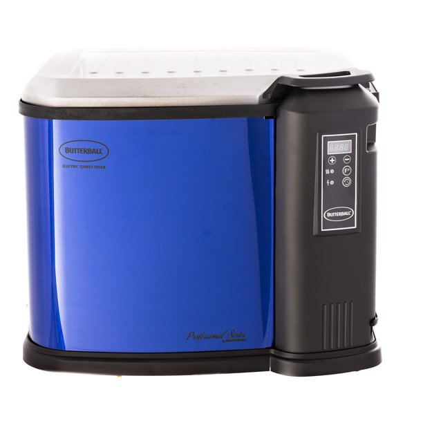 Masterbuilt Butterball XXL Digital Electric Indoor 22 Pound Turkey Fryer, Blue
