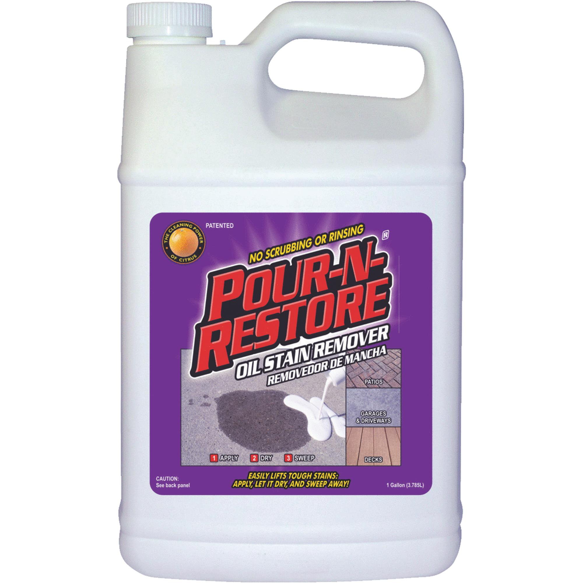 Pour-N-Restore Concrete And Masonry Oil Stain Remover by Edgewater Industries
