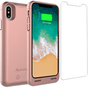 Alpatronix BXX 4200mAh Battery Charging Case for iPhone X (5.8-inch) with Qi Compatible Wireless Charging