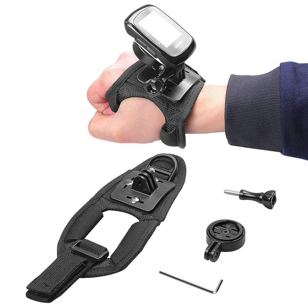 Freewell Garmin GPS holder adapter with Glove_Style Wrist...