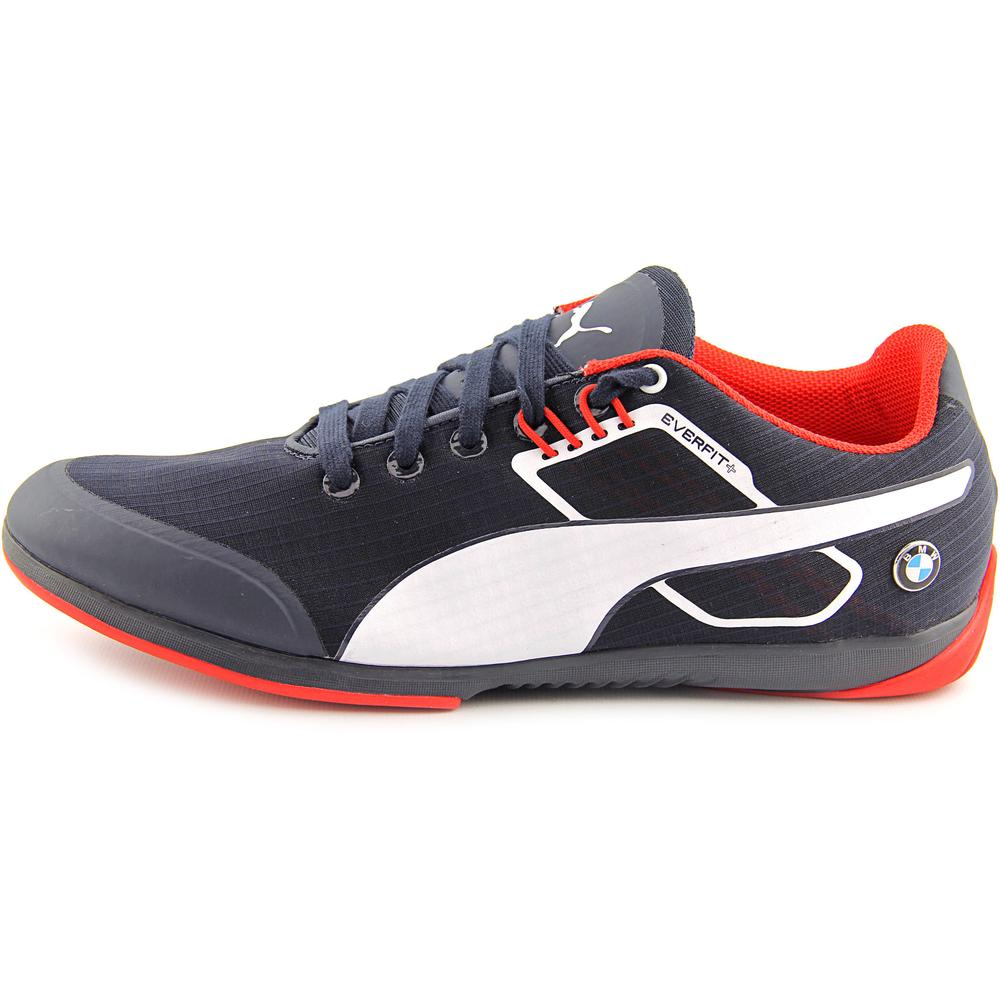 d47cd6ada38 PUMA - Puma BMW MS Everfit Men Round Toe Canvas Blue Sneakers - Walmart.com