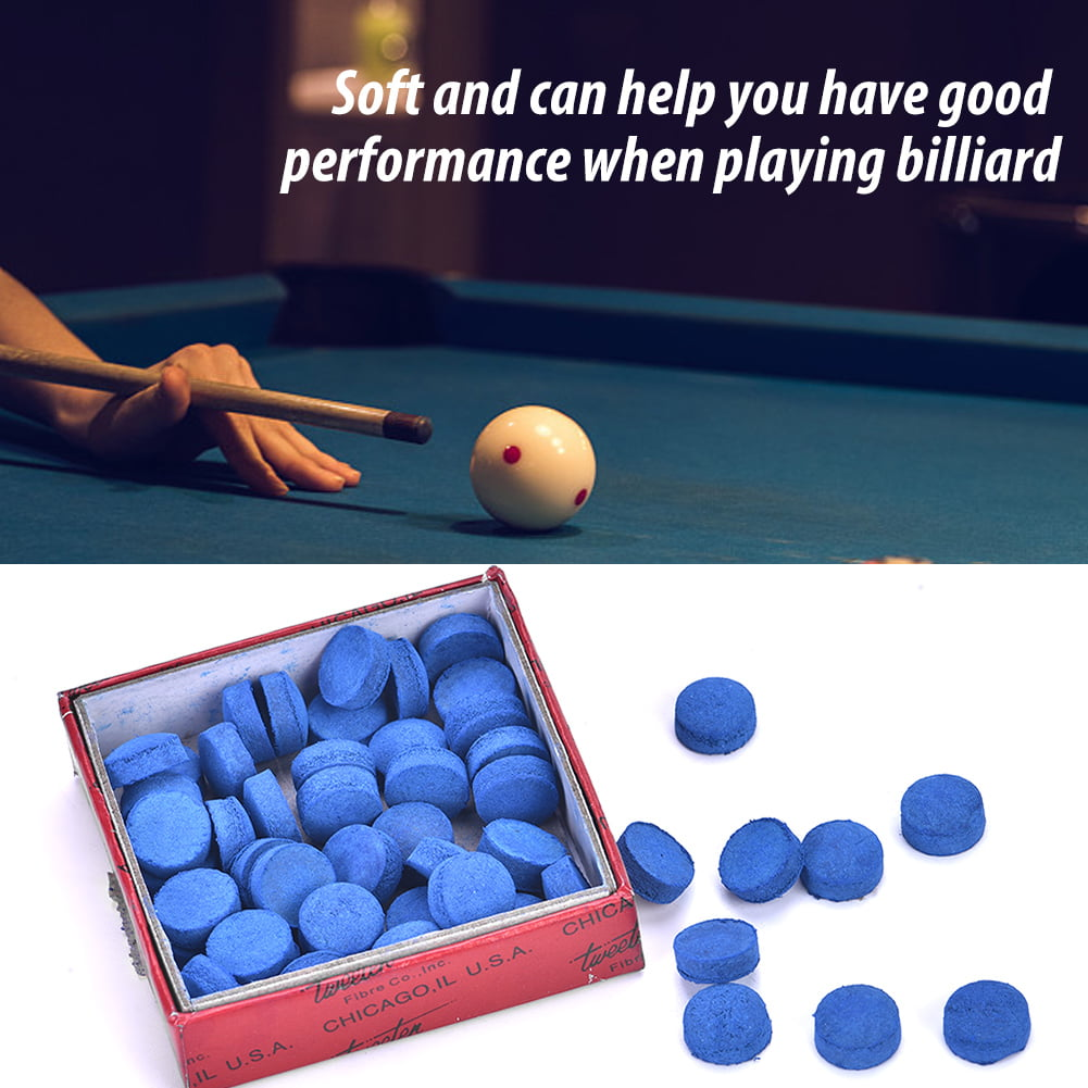 10X 13MM SIZE ASSORTED SLIP ON POOL CUE STICK TIPS LY
