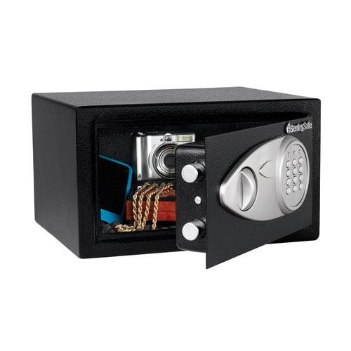 SentrySafe Electronic Programmable Pistol Safe, Steel