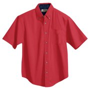Tri-Mountain Men's Big And Tall Woven Shirt