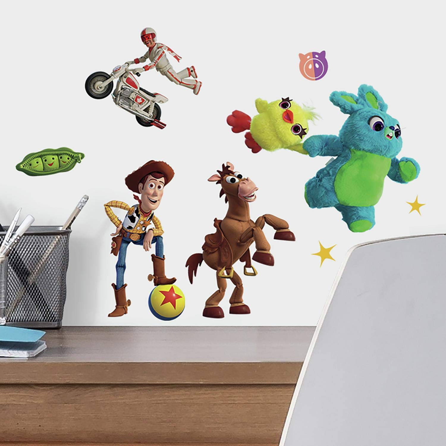 Removable Personalized Wall Sticker Toy Story 3D Wall Decal