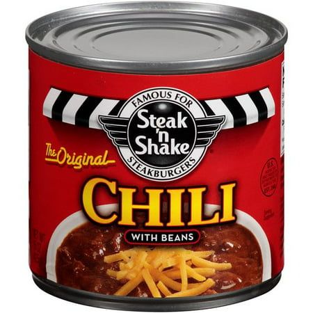 Pinnacle Foods Steak N Shake Chill With Beans  15 Oz