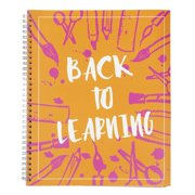 Academic Planner – Teacher Planner, Weekly and Monthly Calendar, Schedule Organizer for School Study, Lesson Plan Book, Spiral Twin-Wire Binding, Yearly Agenda, 9 x 11 inches