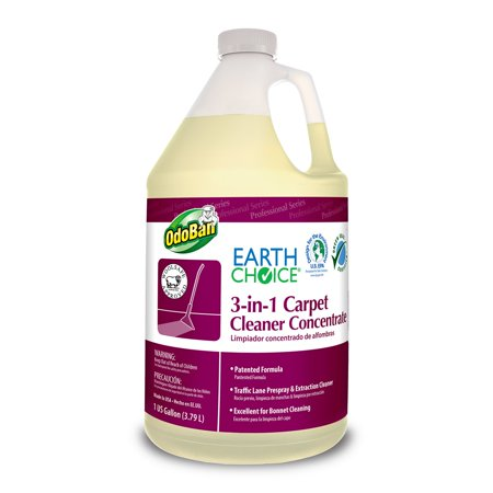 Earth Choice 9602B62-G4 3-in-1 Carpet Cleaner, 1 Gallon Bottle