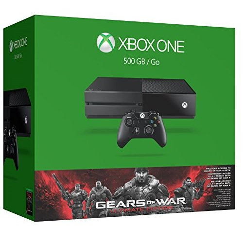 Refurbished Xbox One 500GB Console Gears Of War: Ultimate Edition Bundle