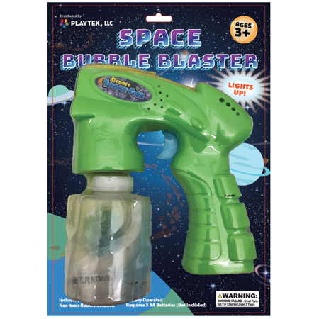 PLAYTEK SPACE BUBBLE BLASTER (Color may vary)