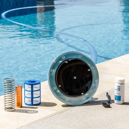 XtremepowerUS Solar Pool Ionizer Chlorine Free Solar Pool Water Purifier Ionization System
