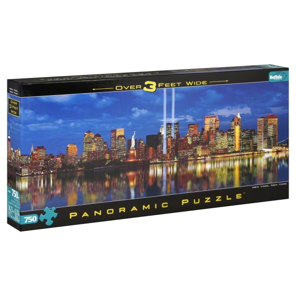 Buffalo Games 750pc Bf Panoramic Puzzle Ast