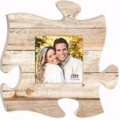 Plaque-Puzzle Piece-Frame-Maple Wood (12 x 12)