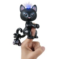 Fingerlings Light-Up Baby Black Panther and Mini - Allec and Ronni - Interactive Toy