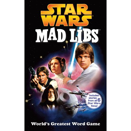 Star Wars Mad Libs (Paperback) (Pride Stars)