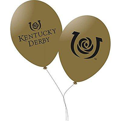 Kentucky Derby Icon Balloons Package of 10 - Kentucky Derby Party Decorations