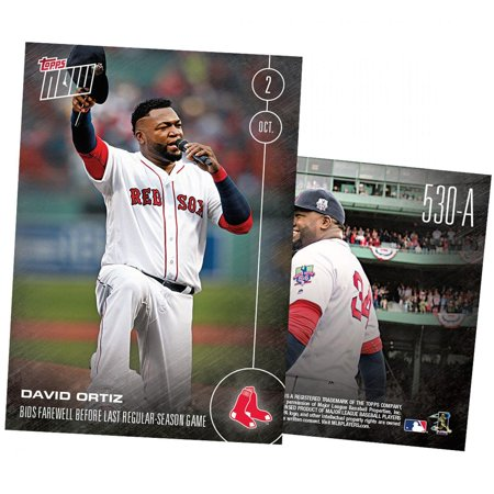 - MLB Boston Red Sox David Ortiz #530A Topps NOW Trading Card