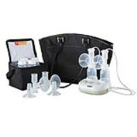 Purely Yours Ultra Breast Pump with Custom Fit Flanges Model #: EW17085MT Qty of 1