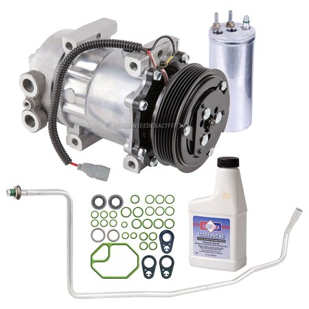 AC Compressor w/ A/C Repair Kit For Jeep Cherokee 2001