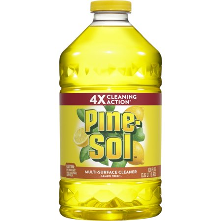 Pine-Sol All Purpose Cleaner, Lemon Fresh, 100 oz Bottle ()