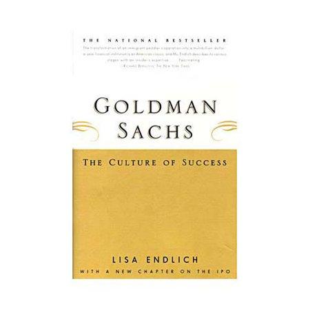 Goldman Sachs  The Culture Of Success