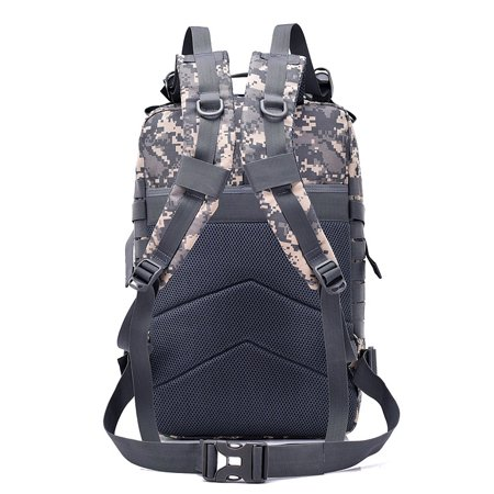 5c4b9942c084 Ktaxon 40L Black Military Tactical Waterproof Backpack