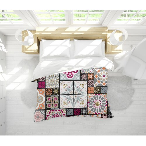 Bungalow Rose Tile Lightweight Single Comforter