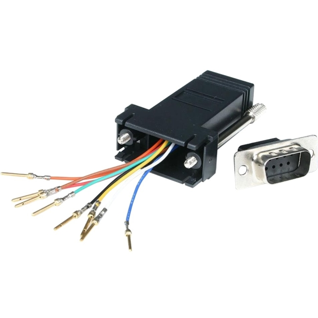 StarTech DB9 to RJ45 Modular Adapter M/F Serial adapter DB-9 M RJ-45 F GC98MF