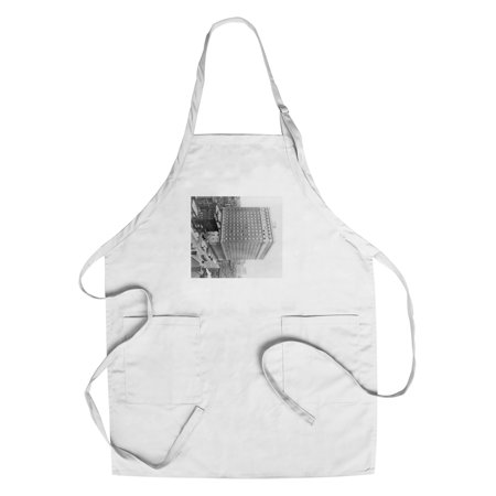 46th Street (Ritz-Carlton Hotel on Madison Avenue and 46th Street NYC Photo (Cotton/Polyester Chef's Apron) )