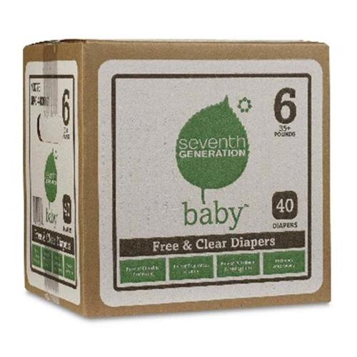 Seventh Generation BG18060 Seventh Generation Babydpr Jumbo Stg6 - 1x40 CT