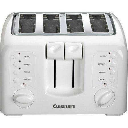 Cuisinart 4-Slice Compact Plastic Toaster CPT-142