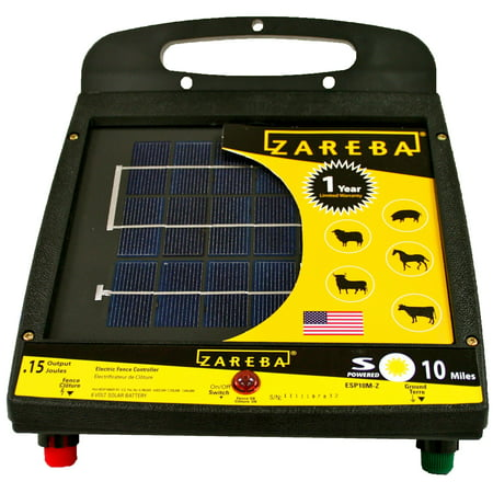 - ZAREBA SOLAR LOW IMPEDANCE CHARGER 10 MILE