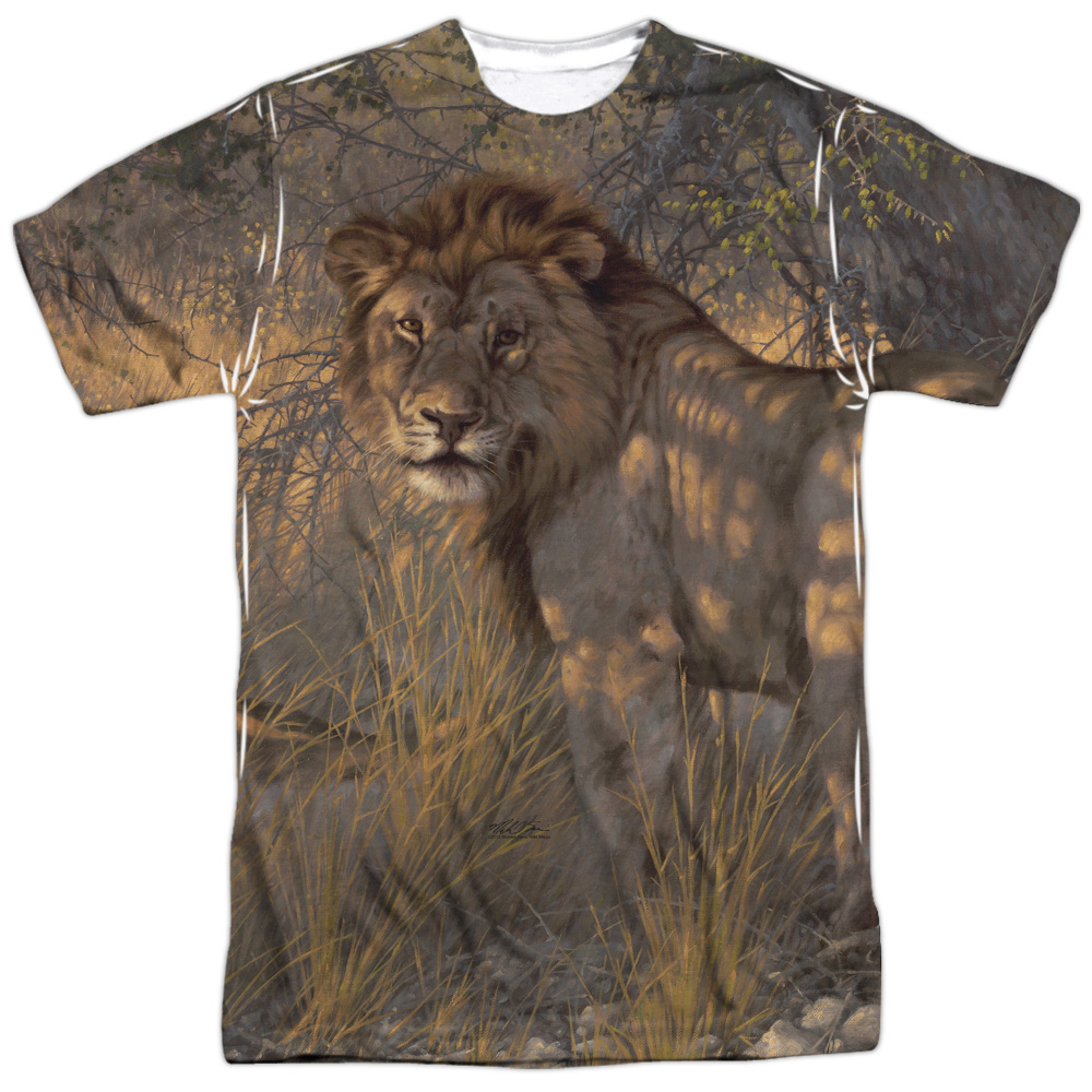 Wild Wings Ladies & Gentleman (Front Back Print) Mens Sublimation Shirt