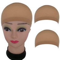 Follure Nude Wig Caps (12 Pack)