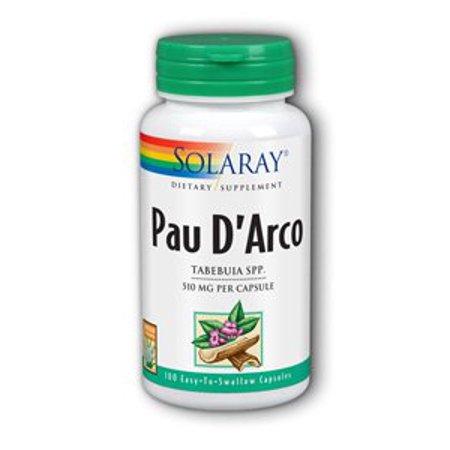 Pau D'Arco Inner Bark 510mg Solaray 100 Caps