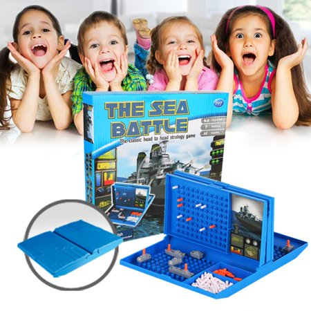 Fun Sea Ship Duel Strategy Game Naval Battle Warship Chess Building Blocks - image 5 of 6
