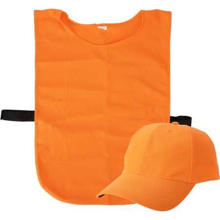 Blaze Cap and Vest Hunter Pack (Best Orange Hunting Vest)