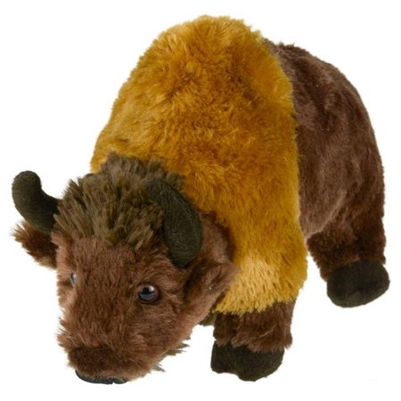 Adventure Planet Plush Animal Den - BISON (9 inch) (Bison Animals)